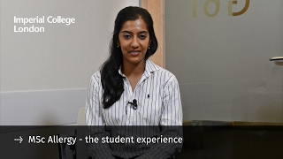 Find out more about the MSc in Allergy and the world-class student ...