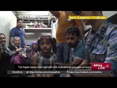 China Evacuates Various Nationalities From Yemen