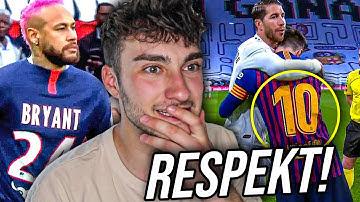 Die respektvollsten Momente im Fußball !