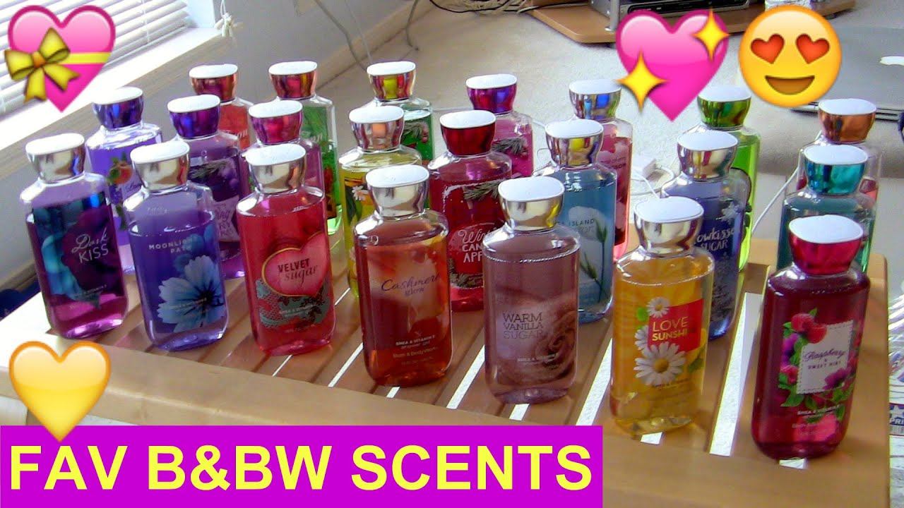 Bath and body works holiday scents - Bath Body Works 2016 Top 22 Favorite Scents Mikayla