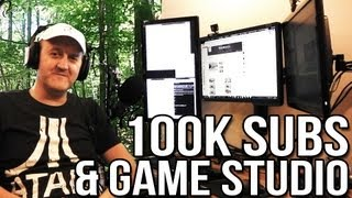 100k Subscribers & Gaming Studio Setup!
