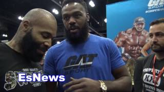 UFC Superstar Jon Jones Would Work With Chris Brown For Soulja Boy Fight EsNews Boxing
