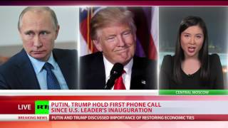 Putin & Trump discuss joint ISIS fight, Ukraine crisis, future meeting in first phone call