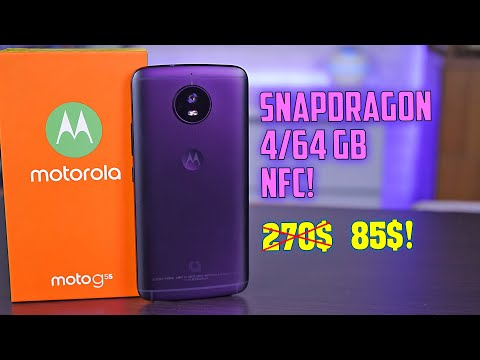 Moto G5S полный обзор заманчивого бюджетника с NFC! [4K Review]