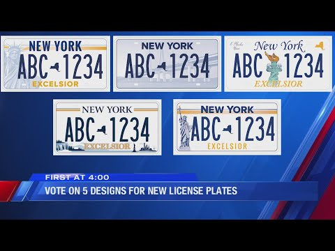 Rich Lauber - Get Ready To Vote For New York State's New License Plates!
