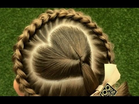 Cute Braided Hairstyles For Little White Girls Youtube
