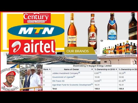 The Top 20 Richest Companies In Uganda Not For Ugandans or Government.