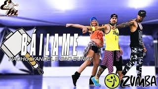 Báilame (Versión Zumba) Remix  - Nacho, Yandel, Bad Bunny - Coreografía Equipe Marreta