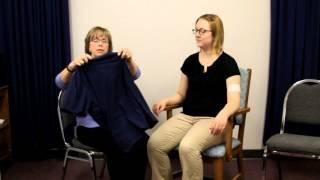 After Stroke-A Simple, Effective Way To Put On And Take Off A Shirt.