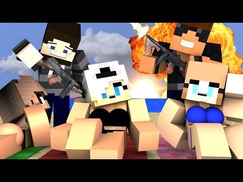 Minecraft Battlefield - MILITARY VACATION! ( Minecraft Roleplay #4 )