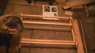 vuclip Assembling a Kromski Harp Forte Rigid Heddle Loom - Time-lapse