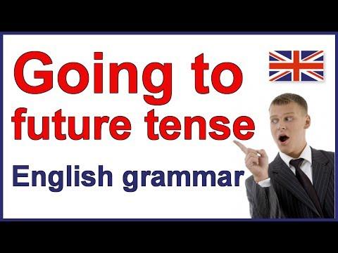 English future tense | Going to + verb | Learn English grammar