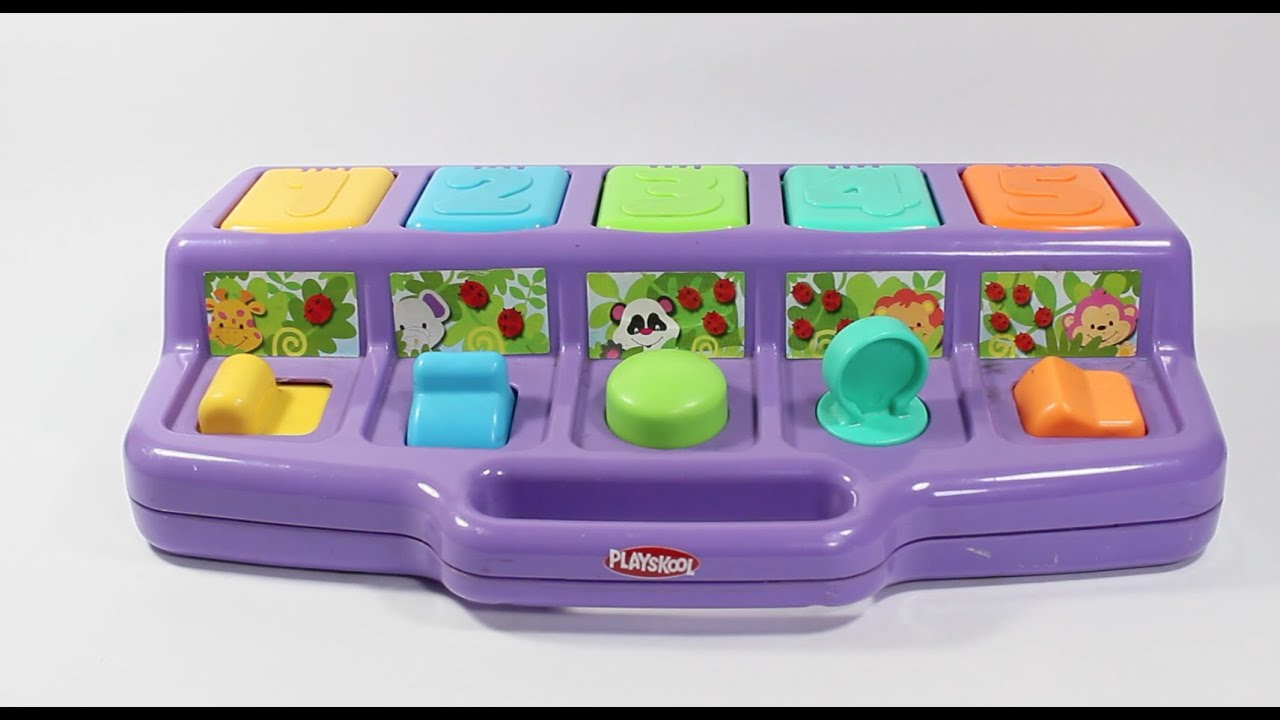 Playskool Busy Poppin Pals POP-UP Playskool Busy Basics