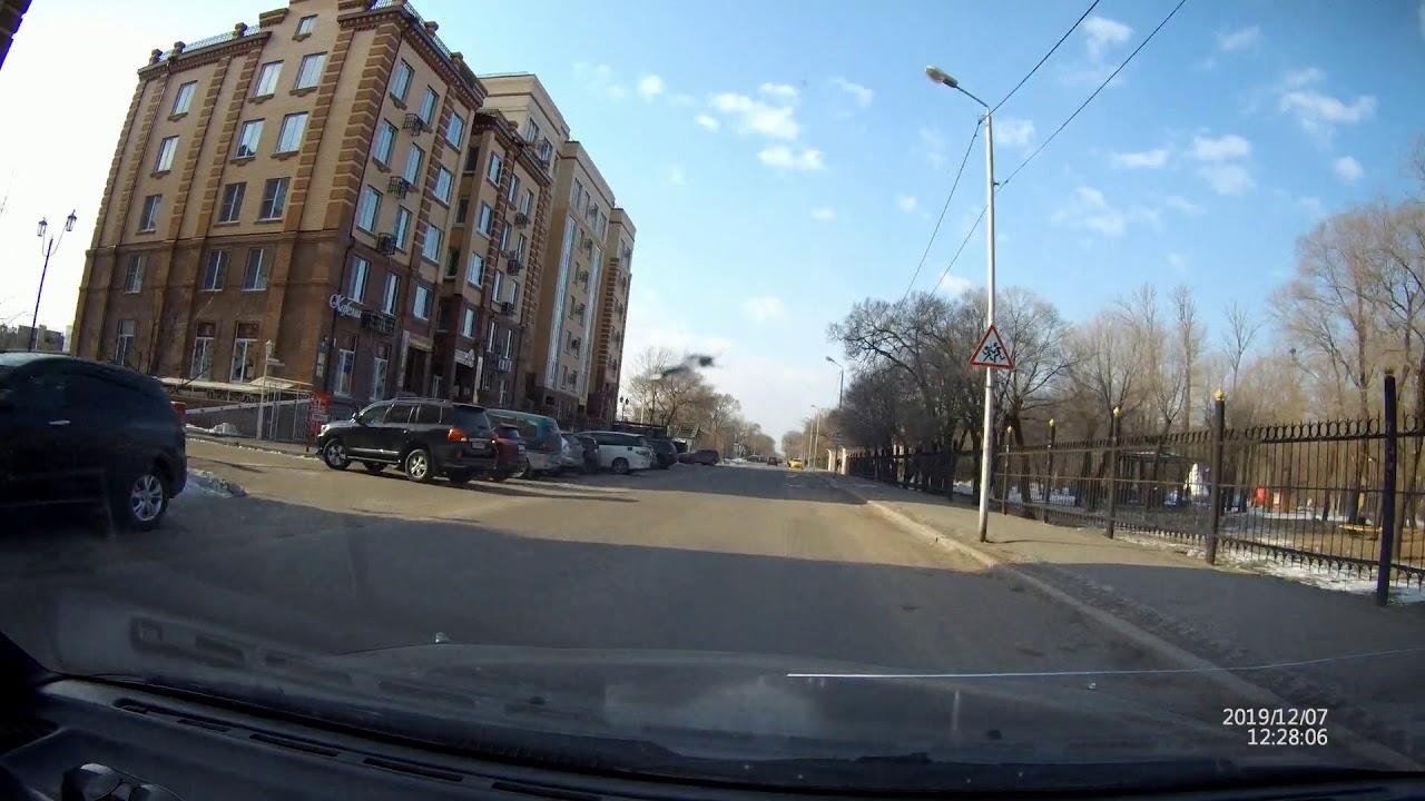 Уссурийск, улицы Суханова и Володарского, декабрь 2019 г.