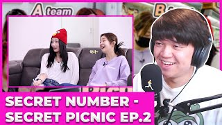 SECRET NUMBER (시크릿넘버) - SECRET PICNIC PARTY / Episode 2 Reac…