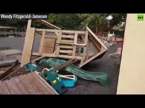 Storm Ali tears through Britain and Ireland