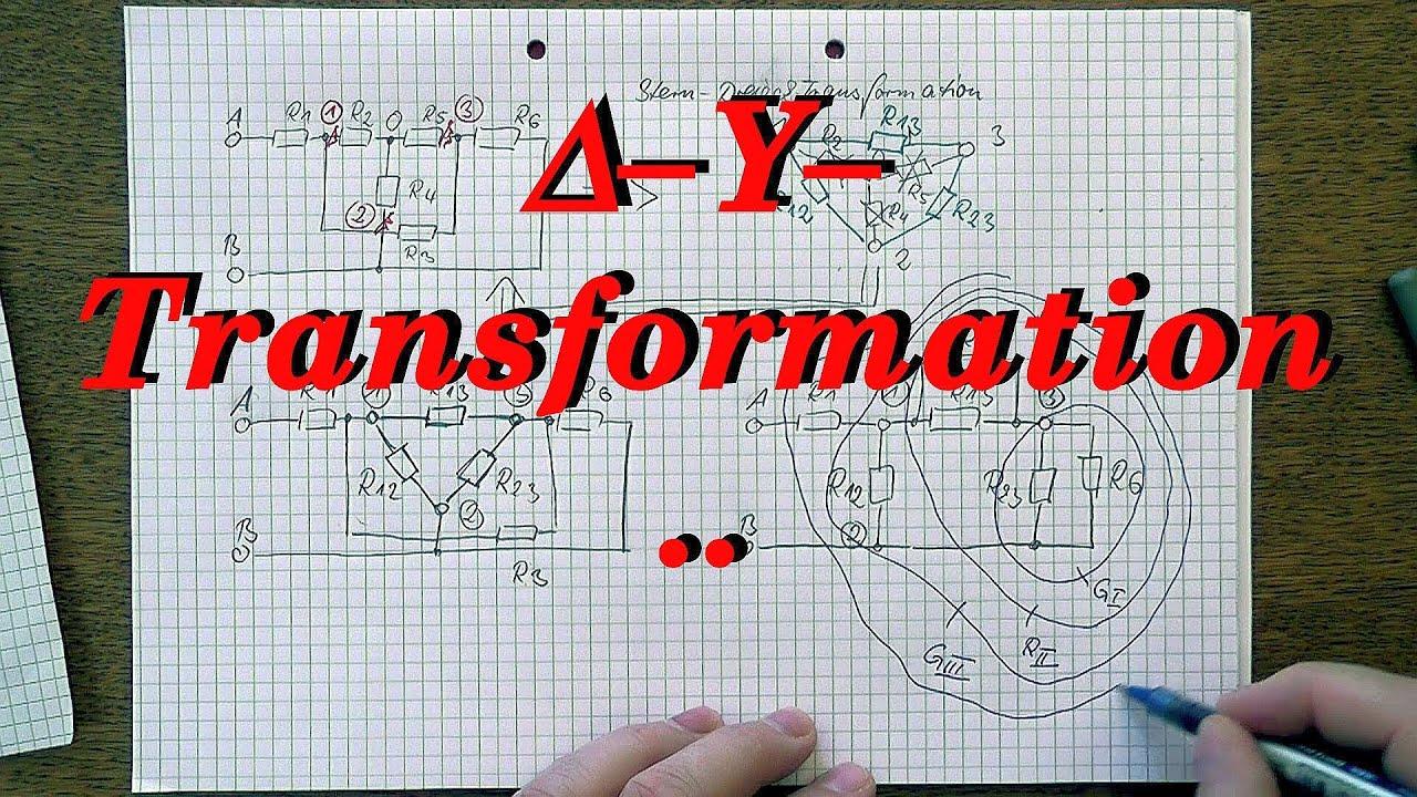 Stern-Dreieck-Transformation, Beispiel 1/3 - Einleitung - YouTube