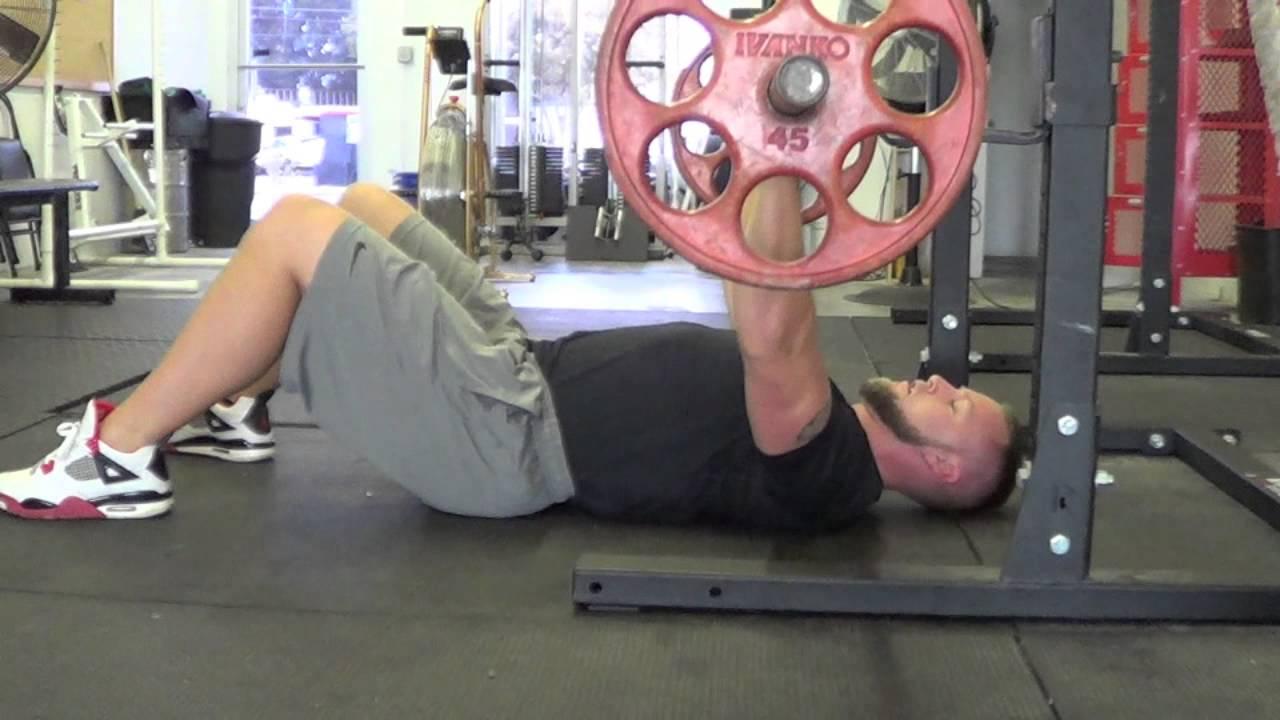 floor shoulder press