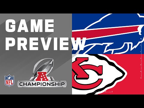 Buffalo Bills vs. Kansas City Chiefs | NFL Conference Championship Preview