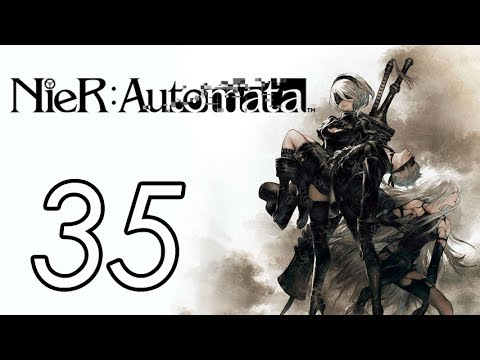Let's Play Nier: Automata [A.35] Emil's home