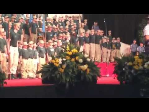 Cadets Performance at Family Conference Camp in Big Sandy