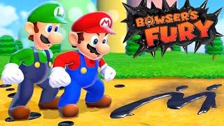 Bowser's Fury - Full Game Walkthrough (2 Player)