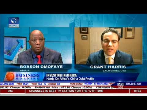Grants Harris On Africa's China Debt Profile |Business Morning|