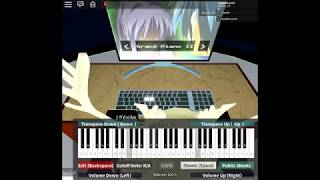Stay Alive - Re:Zero ED 2 | TheIshter Arr - ROBLOX piano