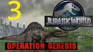 Jurassic World: Operation Genesis--Episode #3--DOME and 4 year life span!