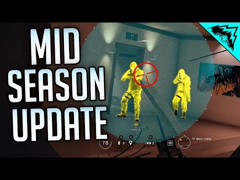 GLAZ THERMAL VISION - Rainbow Six Siege LIVE Mid Season Reinforcement Gameplay