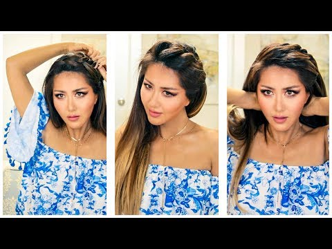 3 EASY EVERYDAY HEADBAND BRAID HAIRSTYLES