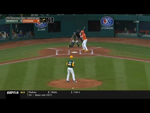 LLWS 2019 Elimination Game   Minnesota vs Louisiana   2019 Little League World Series Highlights