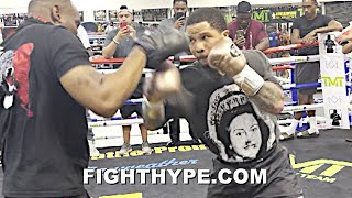 HIGHLIGHTS | GERVONTA DAVIS FIRST LOOK AT 140 POWER & SPEED; MEDIA WORKOUT FOR MARIO BARRIOS CLASH