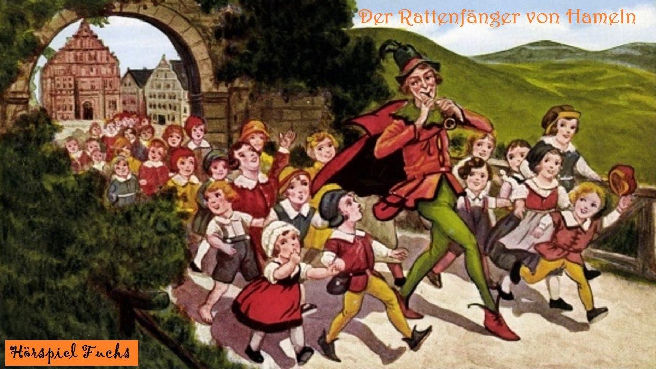 Souvent Der Rattenfänger von Hameln - Märchen Hörspiel - YouTube CE19