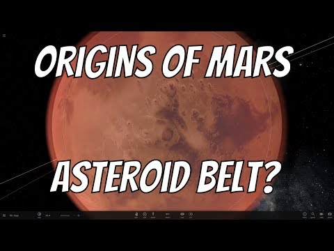 Was Mars Created in the Asteroid Belt?