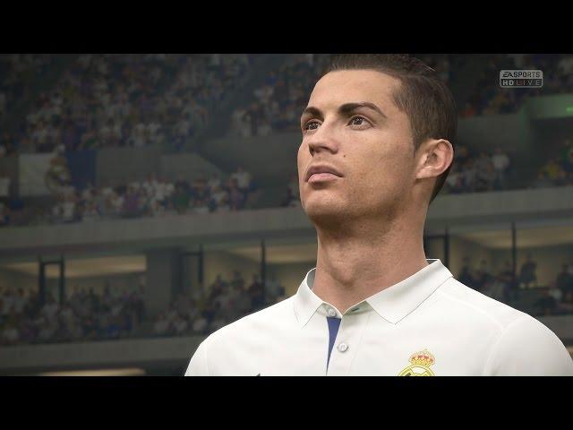 FIFA 17 - Real Madri vs  Bayern de Munique  ( ModoLendario ) Playstation 4