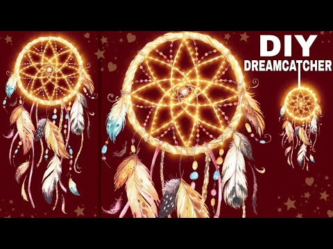 How To Make A Unique Dreamcatcher In An Easy Way