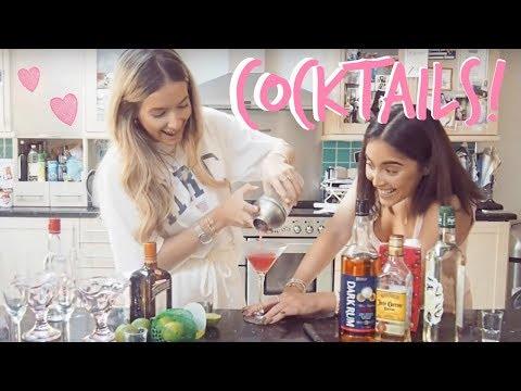 COCKTAIL MAKING! | BAR SCHOOL | Sophia and Cinzia