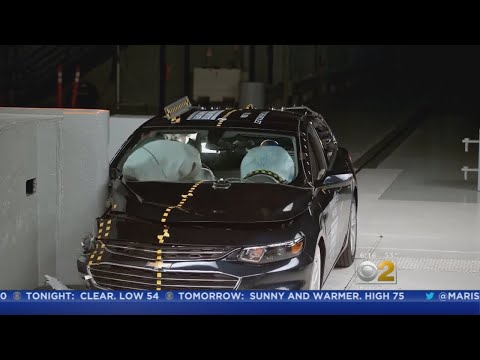 Crash Tests Show Improved Safety In Midsize Cars