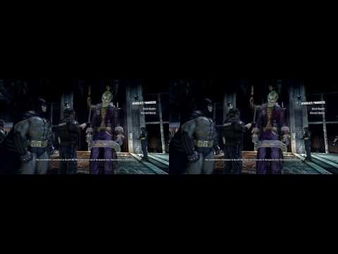 Batman Arkham Asylum 3D Test (Stereoscopic) Nvidia 3D Vision
