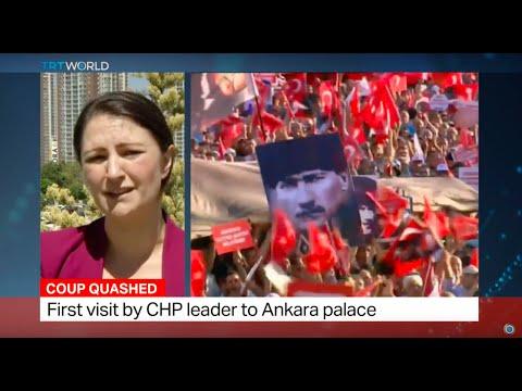 Opposition leaders in Turkey meeting with Erdogan, Charlotte Dubenskij reports