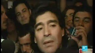 Décès de Diego Maradona : l'Argentine pleure son idole, 3 jours de deuil national