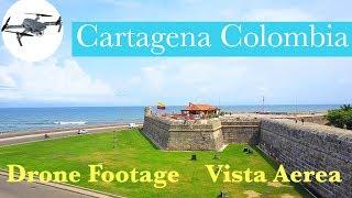 Top place to visit: Cartagena de Indias Colombia Drone view