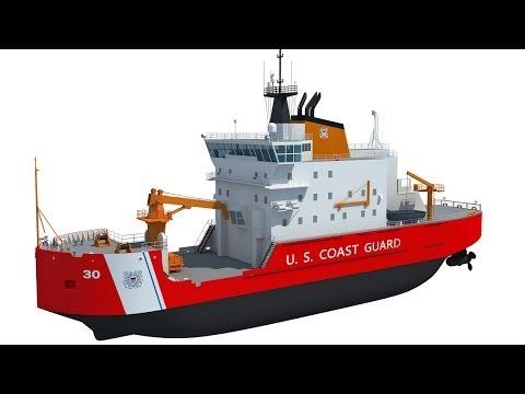 US Coast Guard Icebreaker USCGC Mackinaw