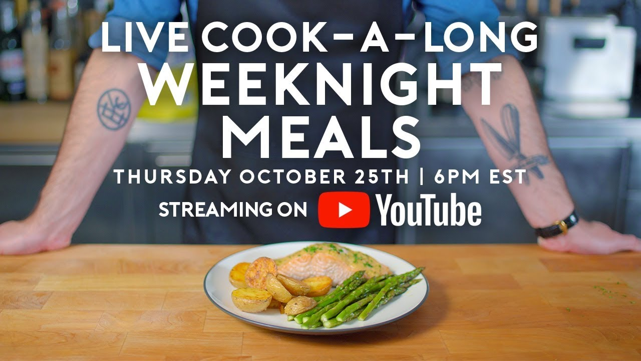 Basics With Babish Live | Weeknight Meals