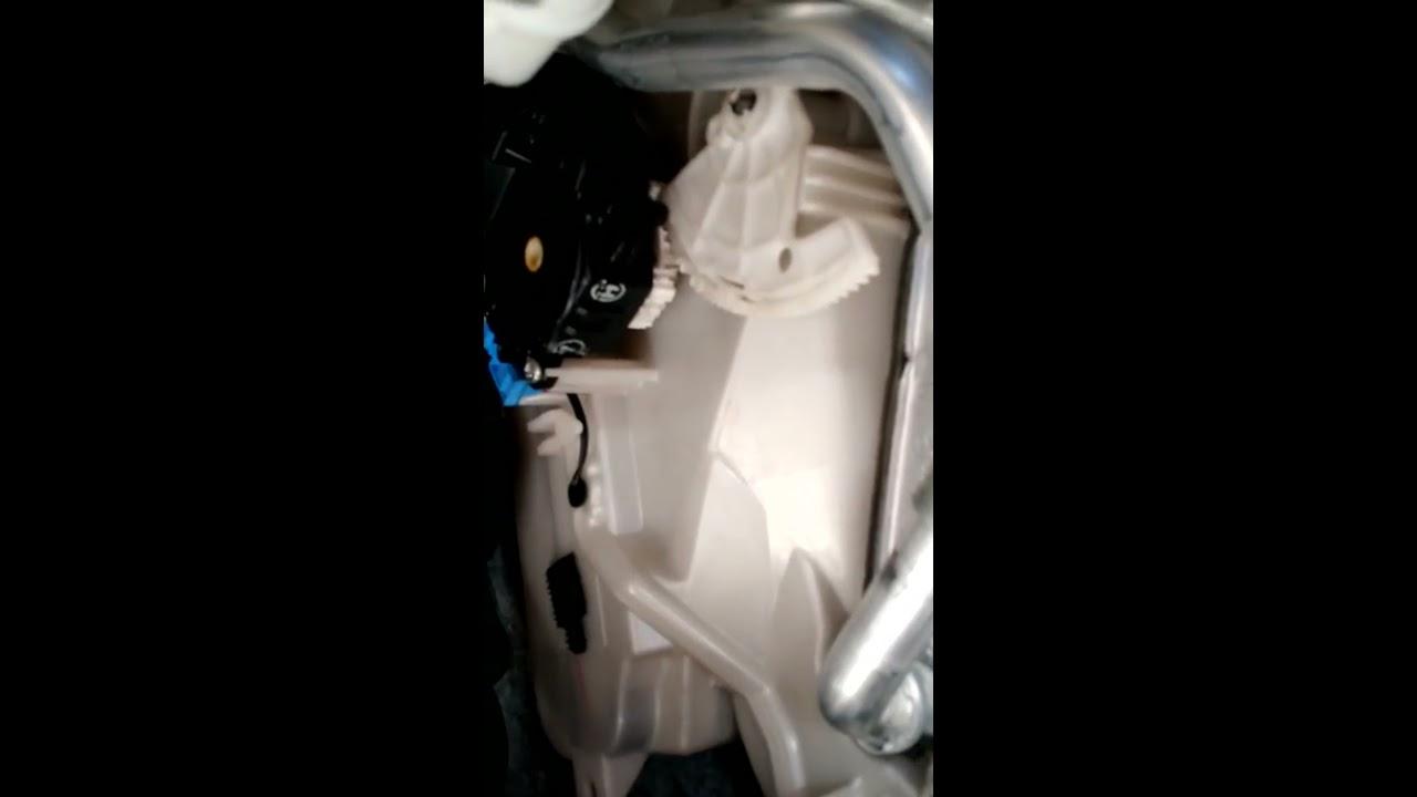 toyota camry 2007 xle heater servo control actuator no heat or defrost heat [ 1280 x 720 Pixel ]