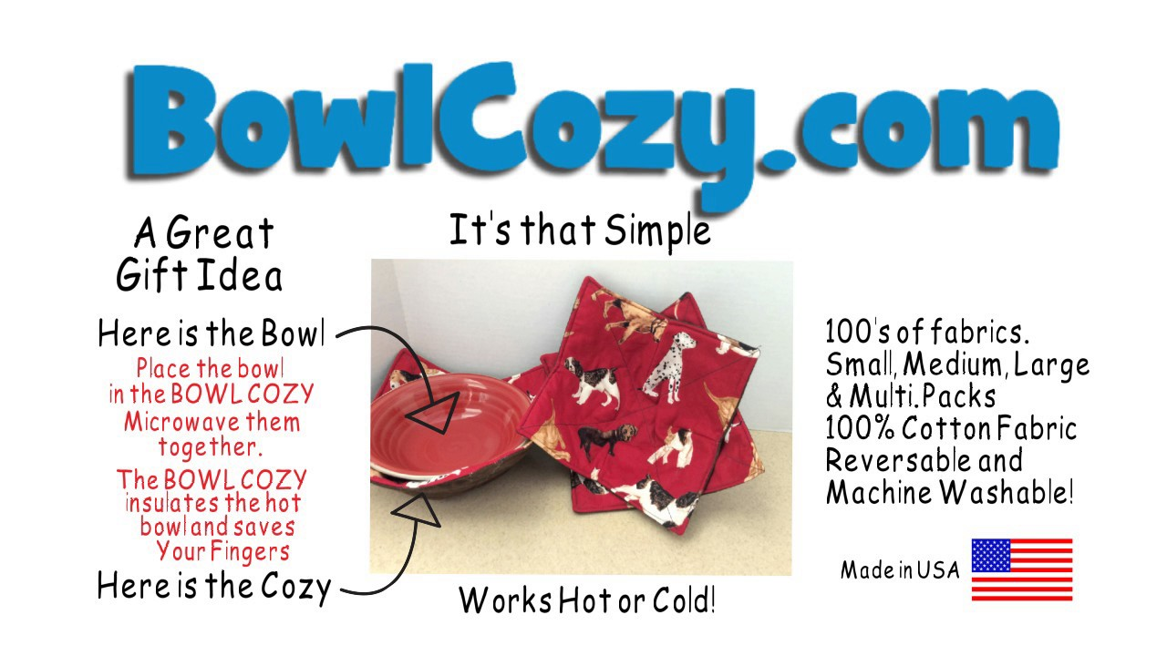 Microwavable Bowl Cozy Youtube