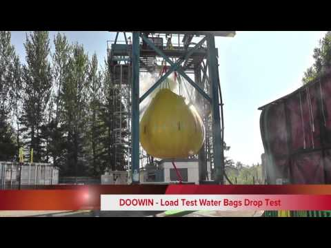 Water Load Testing Weight Bags Drop Test PLB-25T