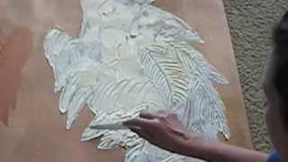 DIY HOW TO MAKE 3D PAINT ANGEL WINGS tutorial