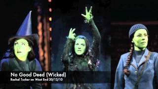 Video No Good Deed - Rachel Tucker's BEST performance!!! (OMG!!!) download MP3, 3GP, MP4, WEBM, AVI, FLV Juni 2017